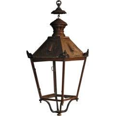 Copper Outdoor Garden Lantern