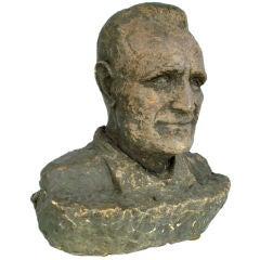 Terracotta Bust of a Gentleman