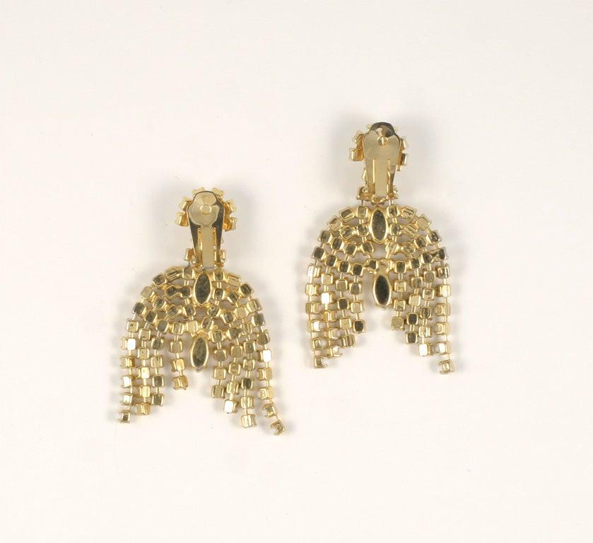 Pair of Milk Glass Earrings 7