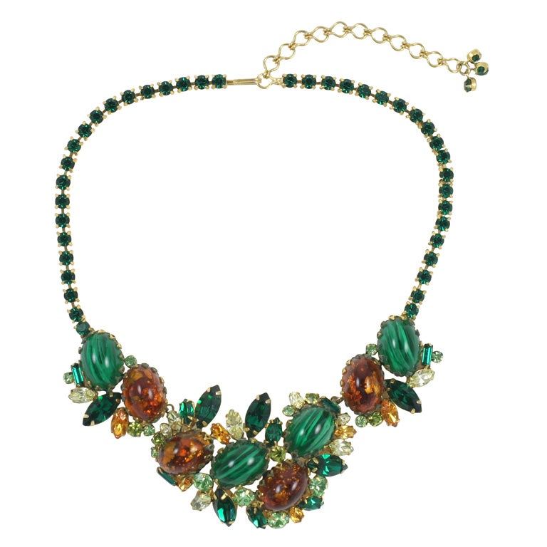 Hobe Jeweled Necklace