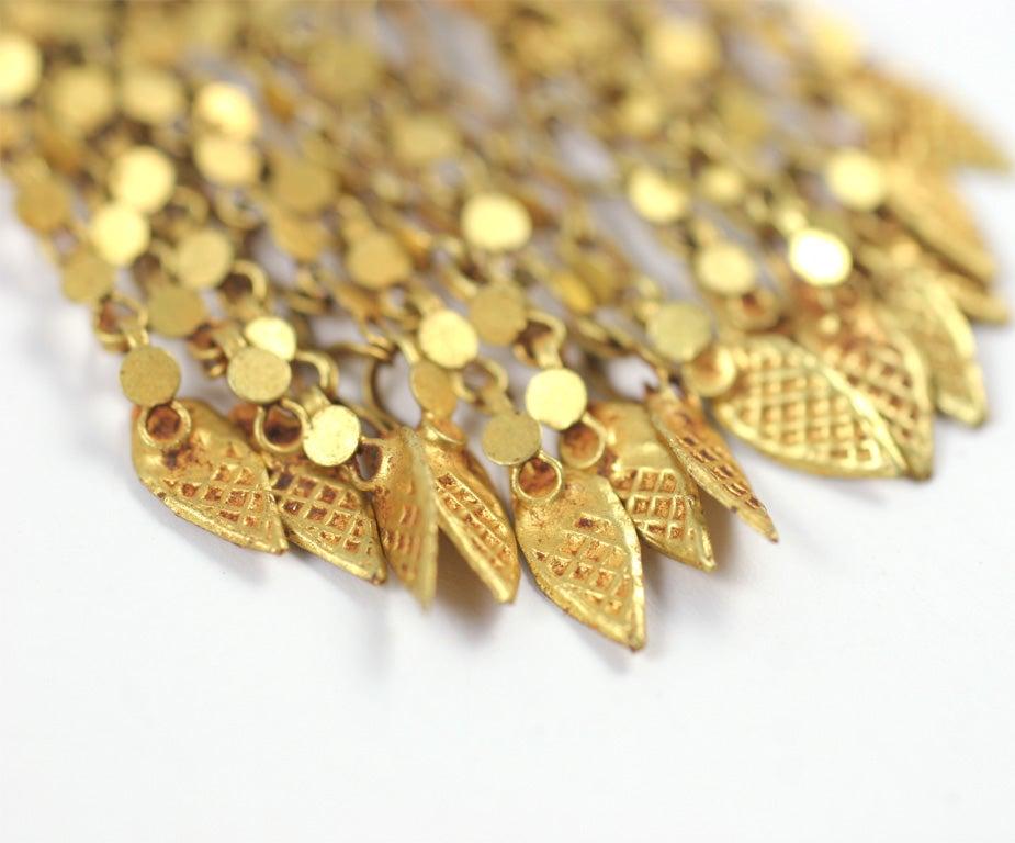 18kt Yellow Gold Flower Earrings 5