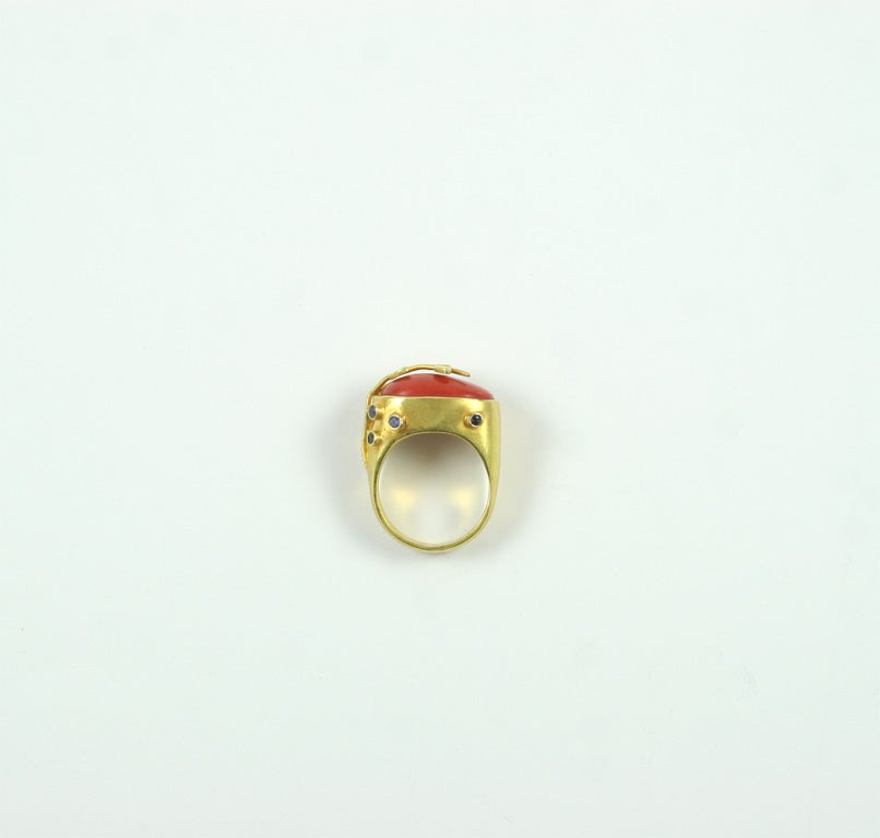 Coral Ring 7