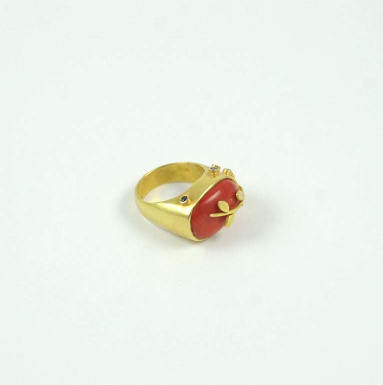 Coral Ring 8