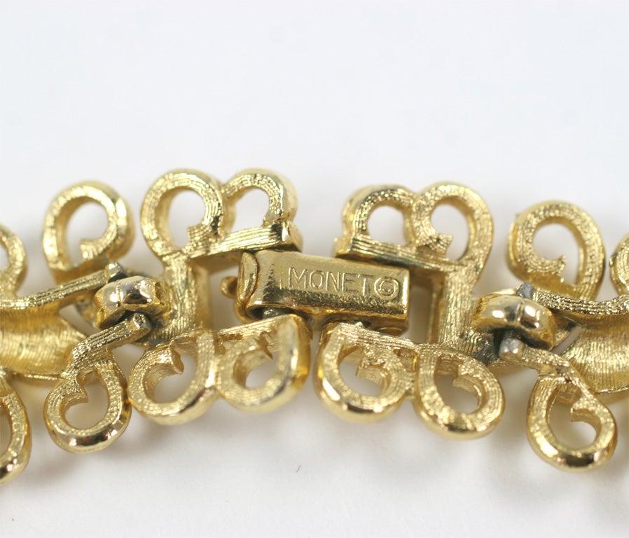monet quot gold quot florentine necklace at 1stdibs