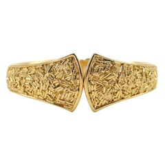 "Trifari ""Gold"" Bracelet, Costume Jewelry"