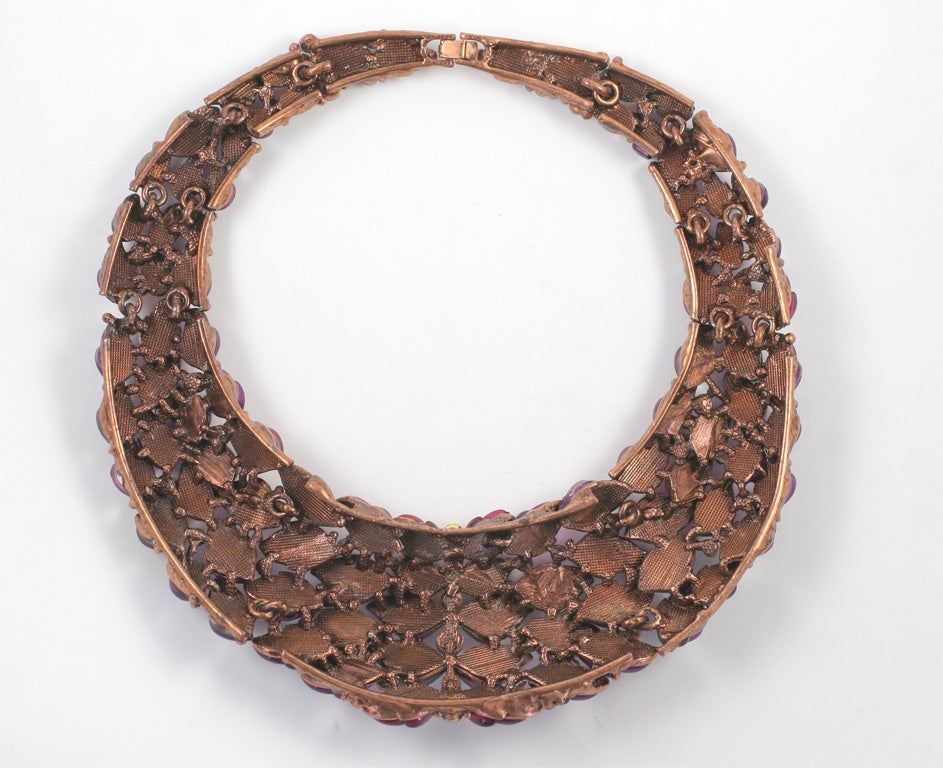 Spectacular Thermoset Collar Necklace 6