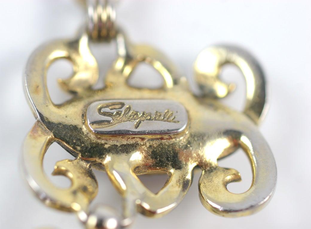 Schiaparelli Necklace For Sale 6