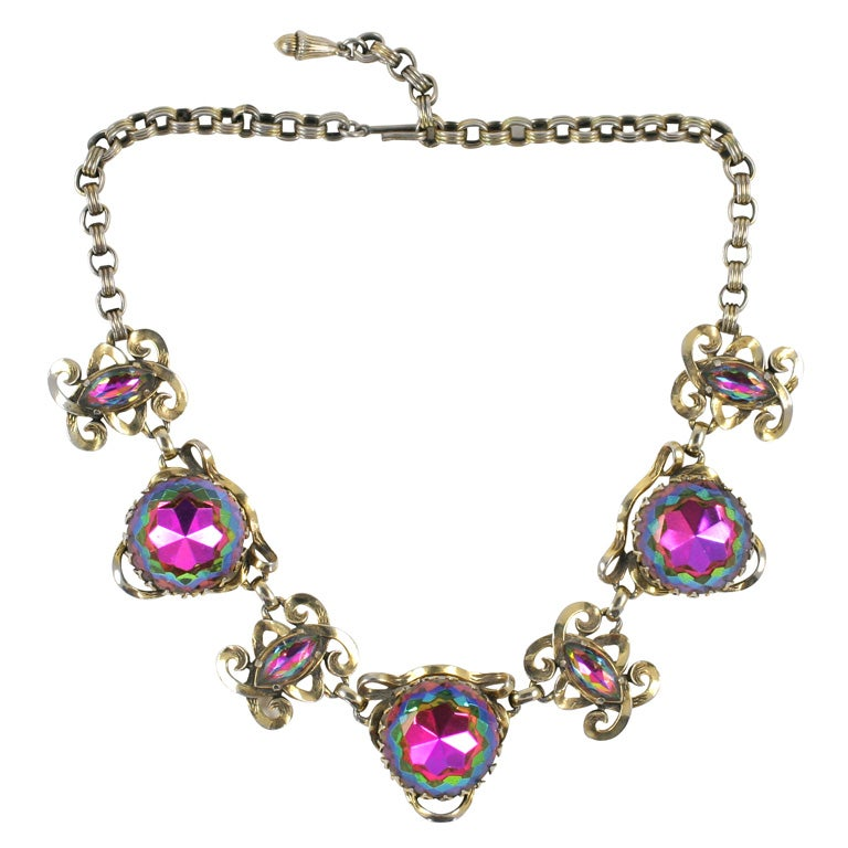 Schiaparelli Necklace For Sale