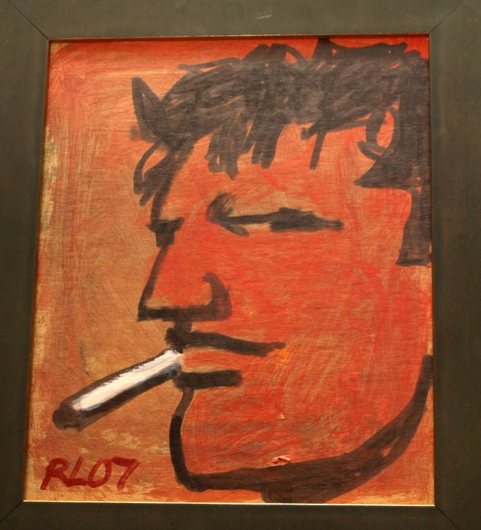 Original Painting by Outsider Artist: Robert Laughlin 2