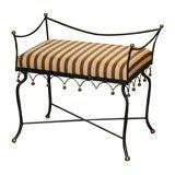 1960 Iron Vanity Seat