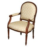 Continental Carved Armchair