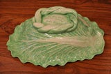 "Dodie Thayer Large ""Cabbage Leaf"" Serving Dish image 6"
