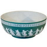 Wedgwood Teal Jasperware Centerbowl