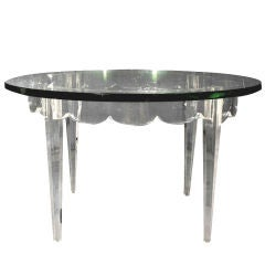 Lucite Grosfeld House Low Table Lorin Jackson
