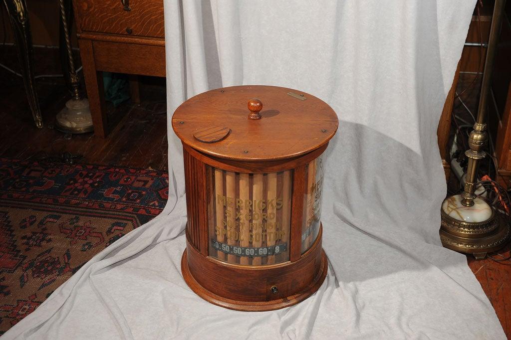 Antique Merrick's Spool Cabinet at 1stdibs