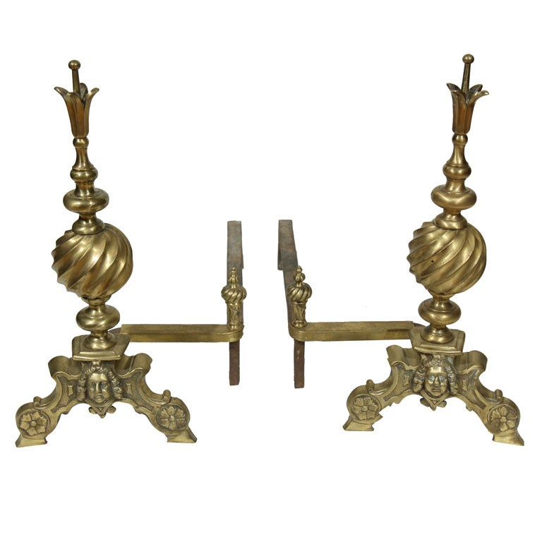 pair of French Andirons