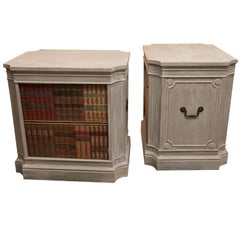 Pair of Faux Painted Side Tables