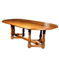 French Cherry Manor House Table