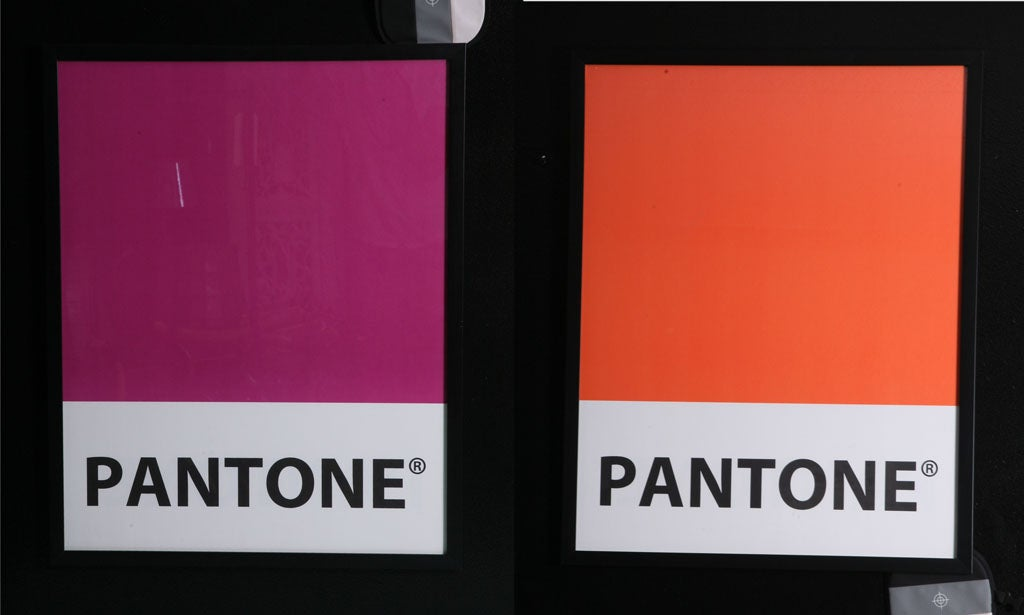 Giant-Sized Framed Pantone Posters 3