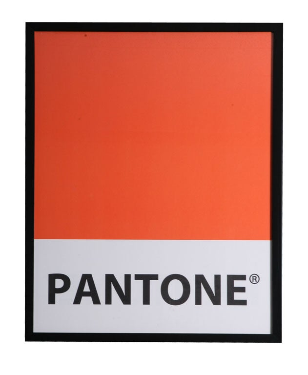 Giant-Sized Framed Pantone Posters 5