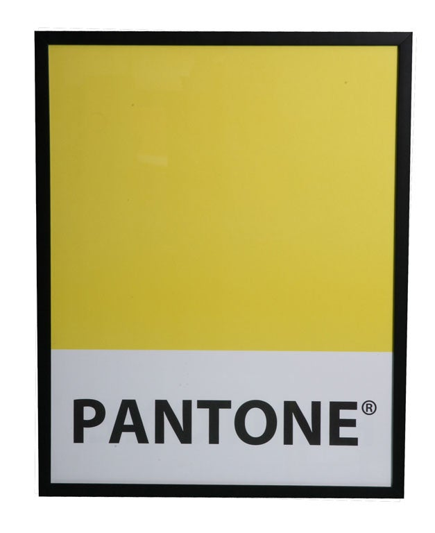 Giant-Sized Framed Pantone Posters 6