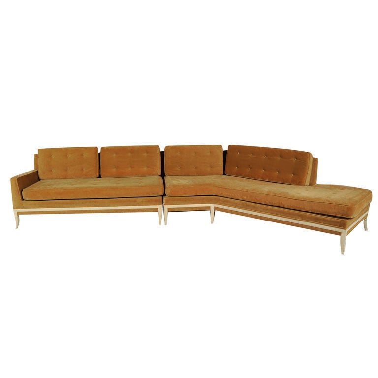 Superb Wing Sectional Sofa by Tommi Parzinger 1