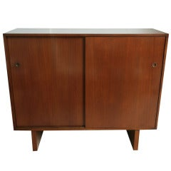Robsjohn-Gibbings Two-Door Cabinet