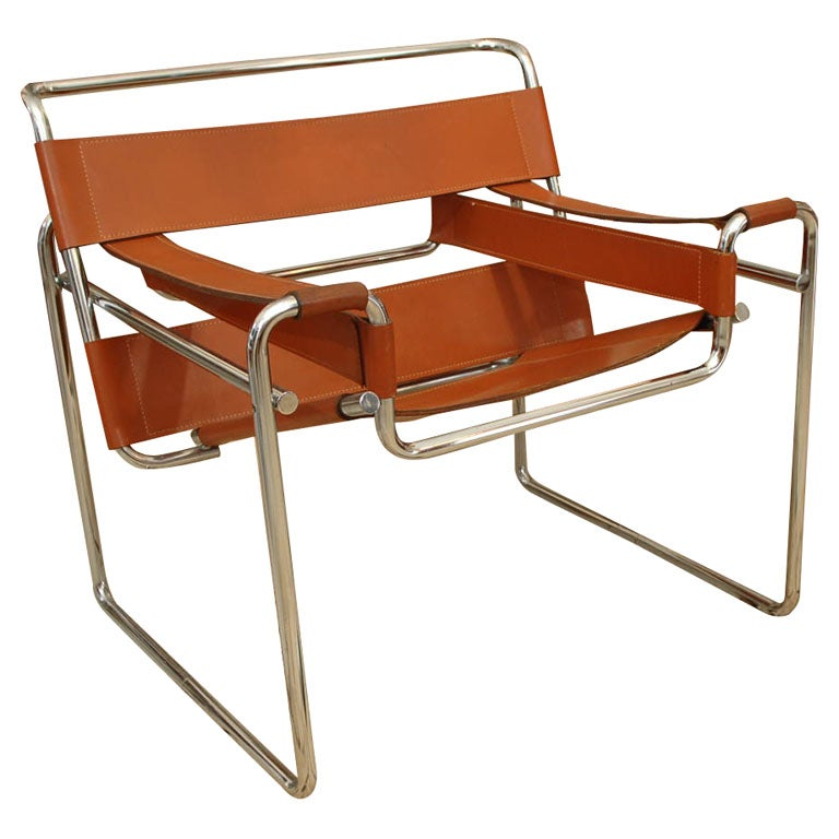 marcel breuer wassily chair at 1stdibs. Black Bedroom Furniture Sets. Home Design Ideas