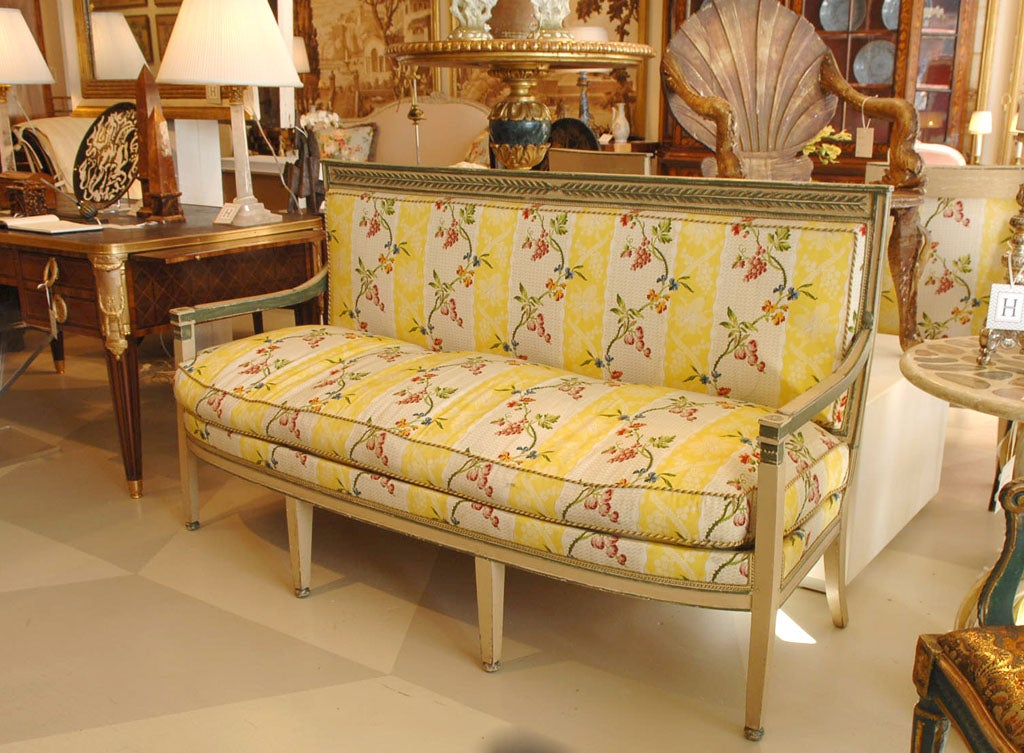 Directoire canape for sale at 1stdibs for Canape for sale