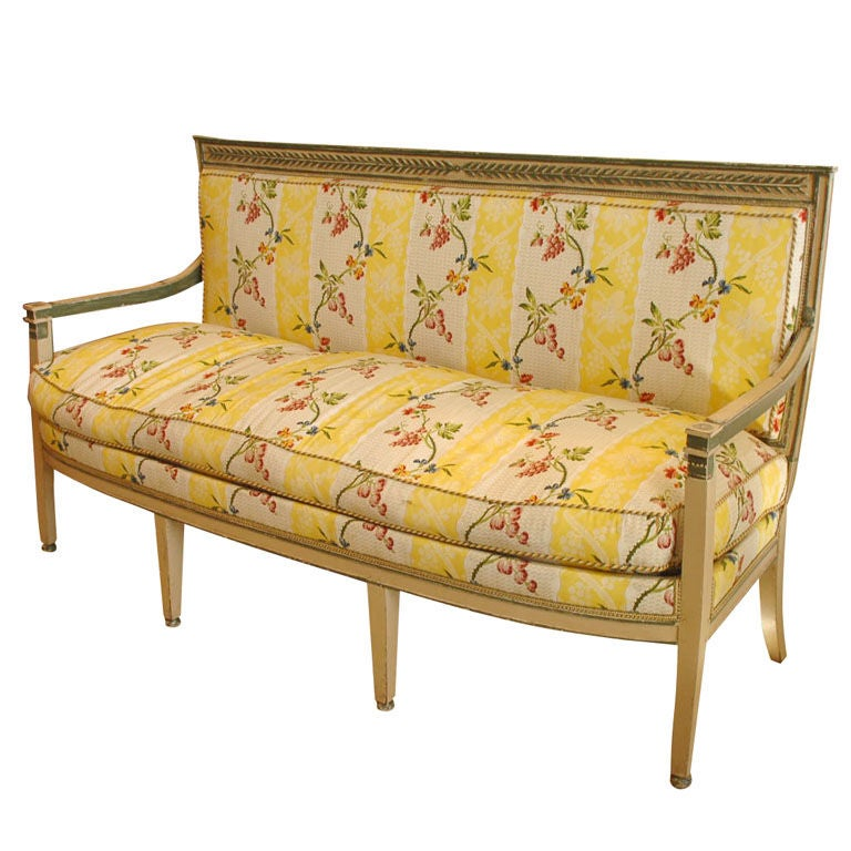 directoire canape at 1stdibs