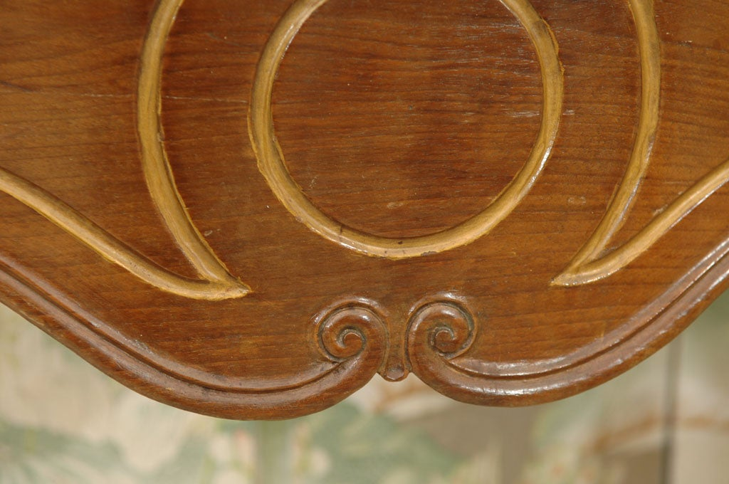 Italian Rococo Style Marble Top Console Table For Sale 3