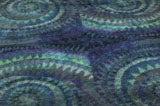Blue Spiral Rya Rug image 4