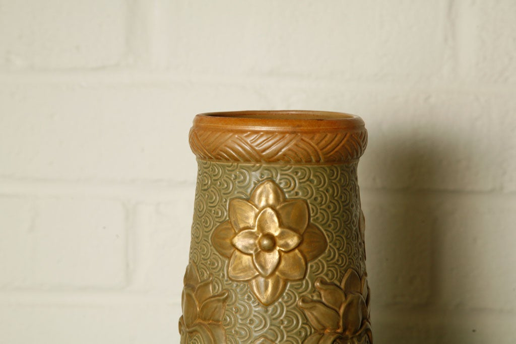 French Art Nouveau Vase In Excellent Condition For Sale In Los Angeles, CA