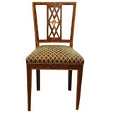* 99 - 36   A SET OF  6 ITALIAN DINING CHAIRS