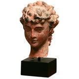 Roman Greek Head on stand.