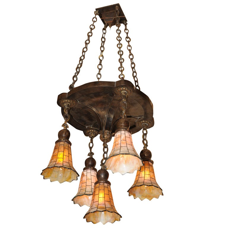 for Arts and crafts chandelier