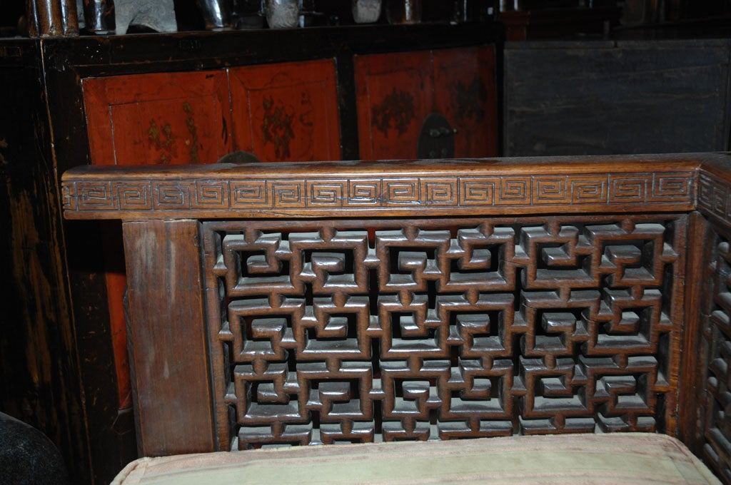 Rosewood Shanghai Settee For Sale