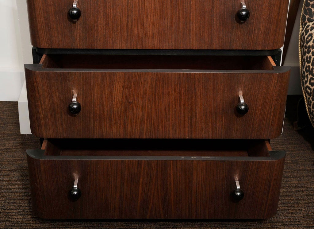 Pair of Donald Deskey Chests of Drawers In Excellent Condition For Sale In Pompano Beach, FL