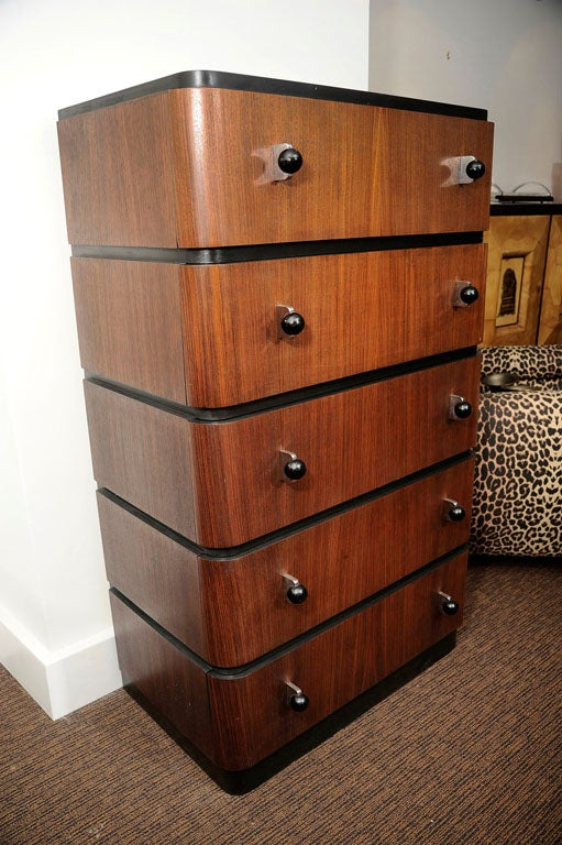 Pair of Donald Deskey Chests of Drawers For Sale 2
