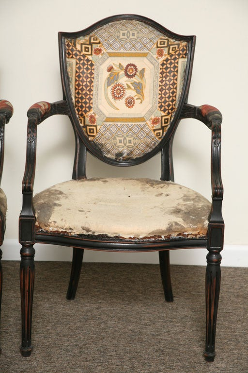 Pair of Elegant Armchairs For Sale at 1stdibs