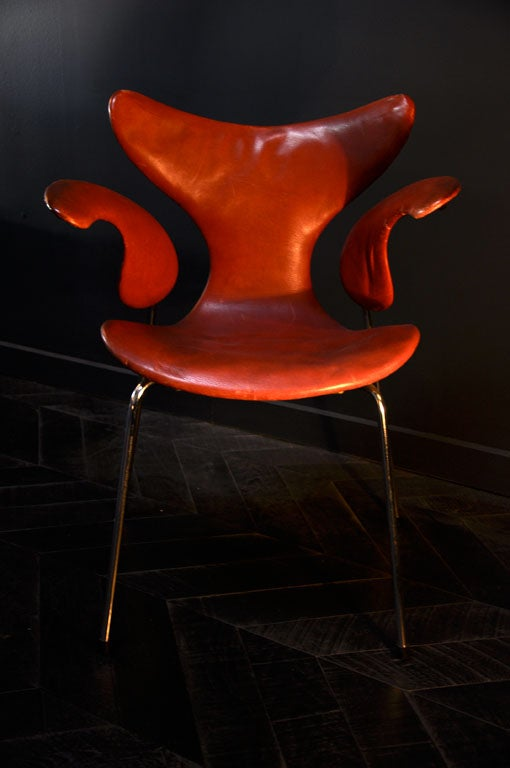 Late 20th Century RARE SET OF 8 SEAGULL CHAIRS BY ARNE JACOBSEN