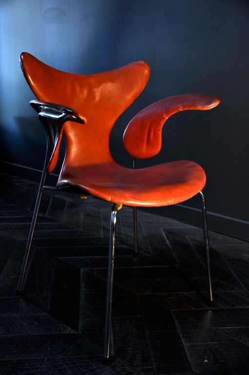 RARE SET OF 8 SEAGULL CHAIRS BY ARNE JACOBSEN 3