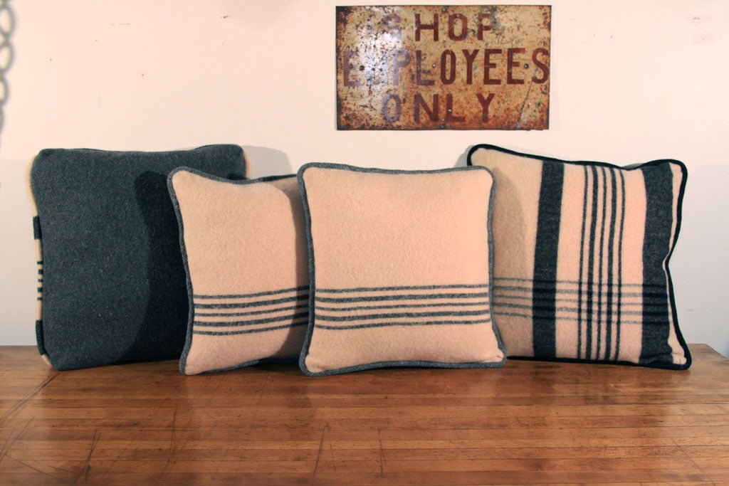 Handmade Vintage Throw Pillows : Handmade vintage pillows at 1stdibs