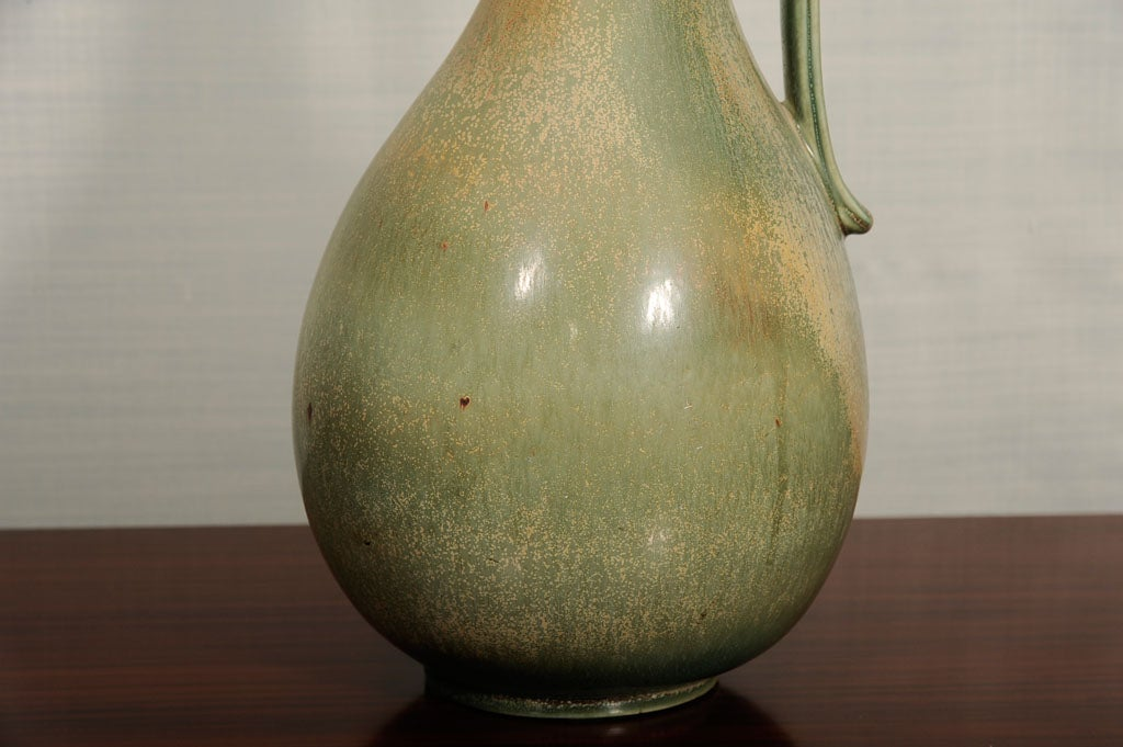 Mid-Century Modern Stoneware Vase by Gunnar Nylund for Rörstrand For Sale