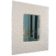 """Névé"" Plaster Wall Mirror by Alexandre Logé"