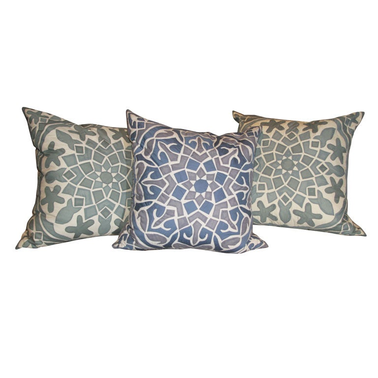 Zanzibar Pillows at 1stdibs