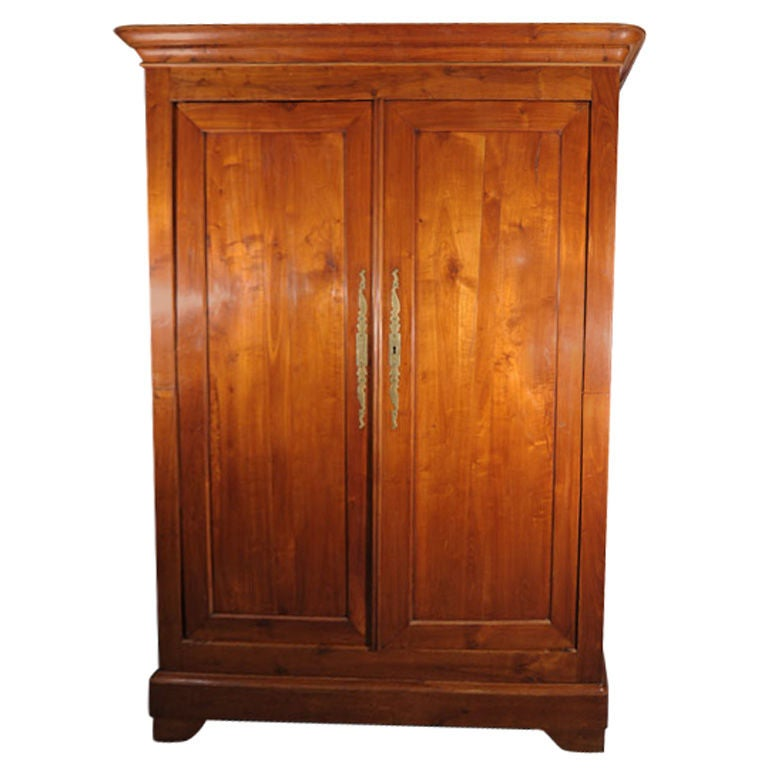 Louis philippe armoire of cherry at stdibs