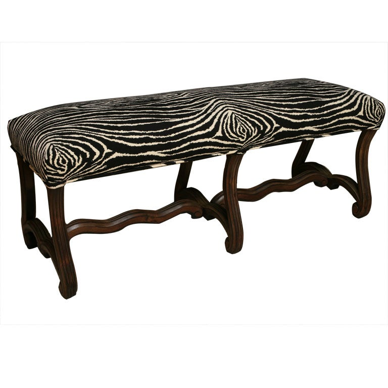 Zebra Benches 28 Images Zebra Bench At 1stdibs Zebra Hide Bench Mecox Gardens Chelsea Home