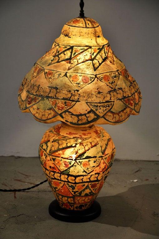 Vintage Camel Skintable Lamp At 1stdibs