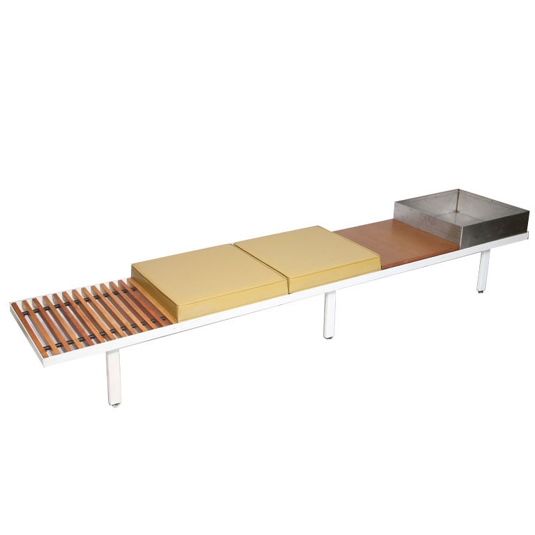 Custom Extra Long Contract Bench By George Nelson At 1stdibs